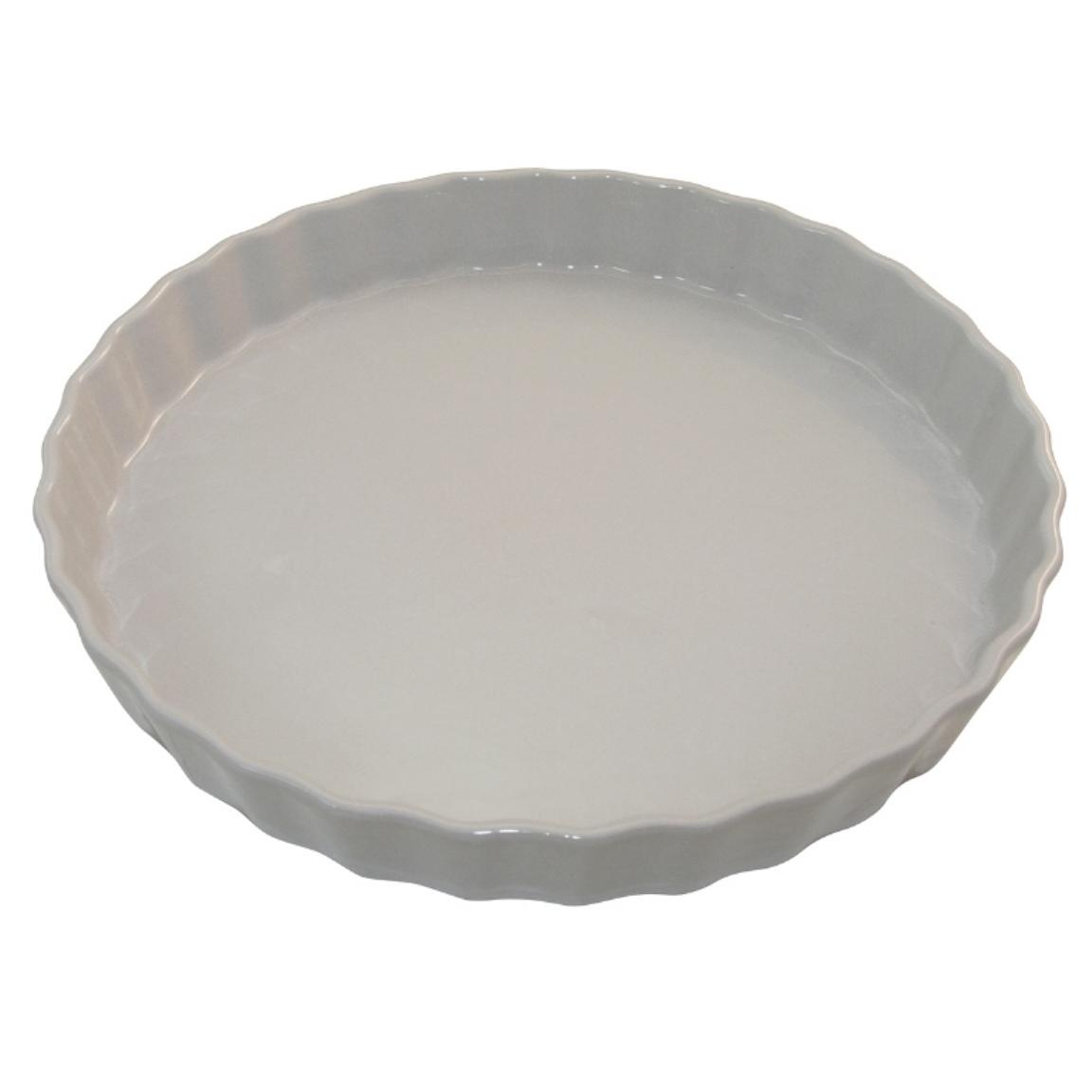 Форма для пирога 30 см Appolia Delices MEDIUM GREY 10530078Формы для запекания (выпечки)<br>Форма для пирога 30 см Appolia Delices MEDIUM GREY 10530078<br><br>Благодаря большому разнообразию изящных форм и широкой цветовой гамме, коллекция DELICES предлагает всевозможные варианты приготовления блюд для себя и гостей. Выбирайте цвета в соответствии с вашими желаниями и вашей кухне. Закругленные углы облегчают чистку. Легко использовать. Большие удобные ручки. Прочная жароустойчивая керамика экологична и изготавливается из высококачественной глины. Прочная глазурь устойчива к растрескиванию и сколам, не содержит свинца и кадмия. Глина обеспечивает медленный и равномерный нагрев, деликатное приготовление с сохранением всех питательных веществ и витаминов, а та же долго сохраняет тепло, что удобно при сервировке горячих блюд.<br>