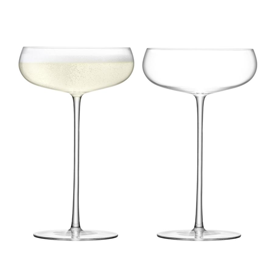 Набор из 2 бокалов-креманок Wine Culture 320 мл LSA G1427-11-191Бокалы и стаканы<br><br>