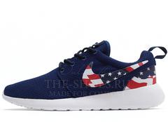 Кроссовки Женские Nike Roshe Run Blue USA