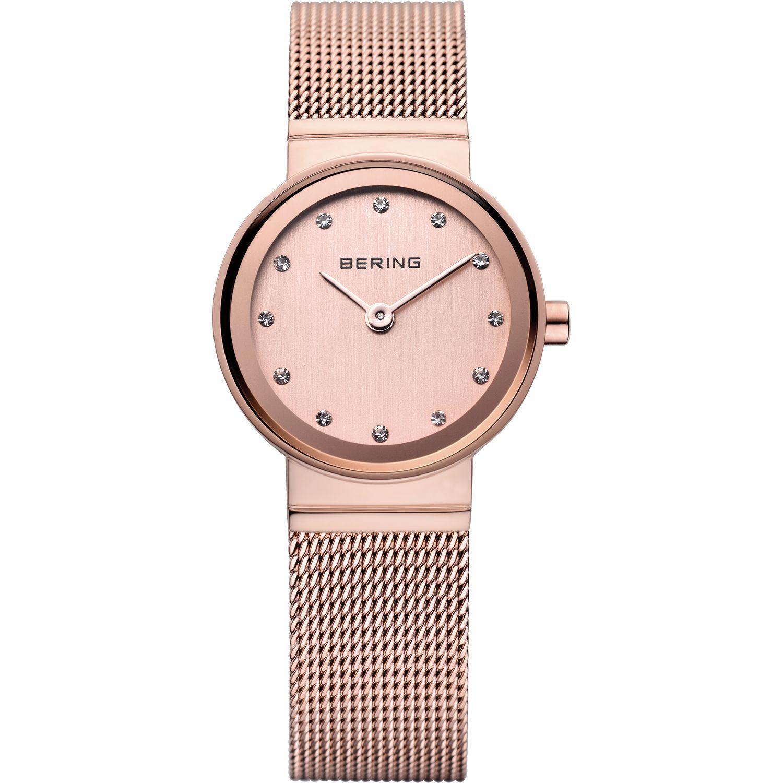 Bering 10122-366 - женские наручные часы из коллекции ClassicBering<br>rose gold, женские, сапфировое стекло, корпус из нерж. стали с покрытием pvd розового цвета ,  браслет из нерж. стали с покрытием pvd розового цвета , циферблат перламутровый розового цвета с 12-ю кристаллами swarovski<br><br>Бренд: Bering<br>Модель: Bering 10122-366<br>Артикул: 10122-366<br>Вариант артикула: ber-10122-366<br>Коллекция: Classic<br>Подколлекция: None<br>Страна: Дания<br>Пол: женские<br>Тип механизма: кварцевые<br>Механизм: None<br>Количество камней: None<br>Автоподзавод: None<br>Источник энергии: от батарейки<br>Срок службы элемента питания: None<br>Дисплей: стрелки<br>Цифры: отсутствуют<br>Водозащита: WR 30<br>Противоударные: None<br>Материал корпуса: нерж. сталь, IP покрытие (полное)<br>Материал браслета: нерж. сталь, IP покрытие (полное)<br>Материал безеля: None<br>Стекло: сапфировое<br>Антибликовое покрытие: None<br>Цвет корпуса: розовое золото<br>Цвет браслета: розовое золото<br>Цвет циферблата: None<br>Цвет безеля: None<br>Размеры: 22x6 мм<br>Диаметр: 22 мм<br>Диаметр корпуса: None<br>Толщина: None<br>Ширина ремешка: None<br>Вес: 28 г<br>Спорт-функции: None<br>Подсветка: None<br>Вставка: None<br>Отображение даты: None<br>Хронограф: None<br>Таймер: None<br>Термометр: None<br>Хронометр: None<br>GPS: None<br>Радиосинхронизация: None<br>Барометр: None<br>Скелетон: None<br>Дополнительная информация: None<br>Дополнительные функции: None