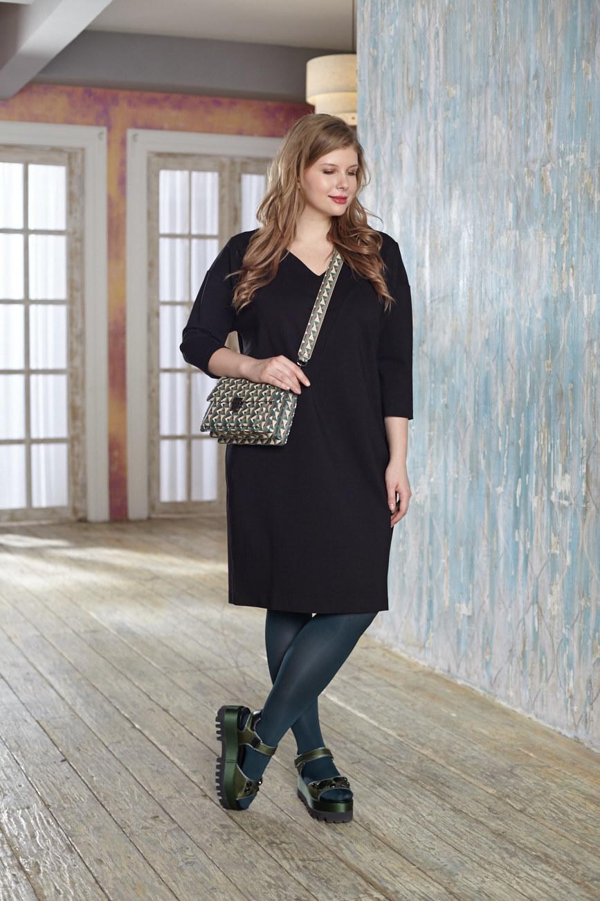 Туника BASE SW1 DM20Платья<br>Это платье-туника из  плотного трикотажа никого не оставит равнодушным: V- образная горловина добавит элегантности, а трикотаж высочайшего качества- дополнительной практичности в носке и удивительного комфорта. Отлично смотрится с поясом. Рекомендуем носить с любой обувью, подходит для всех случаев жизни.Идеально с брюками и плотными колготками.<br>