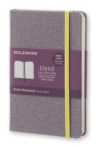 Блокнот Moleskine Blend Pocket Limited Edition, цвет фиолетовый, в линейкуMOLESKINE<br>Количество страниц: 192<br>