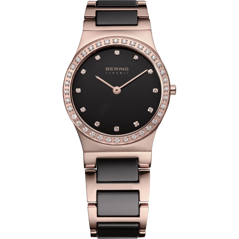 Bering 32430-746 - женские наручные часы из коллекции CeramicBering<br>женские,  сапфировое стекло, шоколадная керамика, корпус из нерж. стали с покрытием pvd  цвета розового золота , безель с 36-ю кристаллами из стекла белого цвета,  браслет из нерж. стали со вставками из керамики коричневого цвета, циферблат перламутровый коричневого цвета с 12-ю кристаллами swarovski<br><br>Бренд: Bering<br>Модель: Bering 32430-746<br>Артикул: 32430-746<br>Вариант артикула: ber-32430-746<br>Коллекция: Ceramic<br>Подколлекция: None<br>Страна: Дания<br>Пол: женские<br>Тип механизма: кварцевые<br>Механизм: None<br>Количество камней: None<br>Автоподзавод: None<br>Источник энергии: от батарейки<br>Срок службы элемента питания: None<br>Дисплей: стрелки<br>Цифры: отсутствуют<br>Водозащита: WR 30<br>Противоударные: None<br>Материал корпуса: нерж. сталь, PVD покрытие (полное)<br>Материал браслета: нерж. сталь + керамика, PVD покрытие (частичное)<br>Материал безеля: None<br>Стекло: сапфировое<br>Антибликовое покрытие: None<br>Цвет корпуса: розовое золото<br>Цвет браслета: розовое золото<br>Цвет циферблата: None<br>Цвет безеля: None<br>Размеры: 30x7 мм<br>Диаметр: 30 мм<br>Диаметр корпуса: None<br>Толщина: None<br>Ширина ремешка: None<br>Вес: None<br>Спорт-функции: None<br>Подсветка: None<br>Вставка: кристаллы Swarovski<br>Отображение даты: None<br>Хронограф: None<br>Таймер: None<br>Термометр: None<br>Хронометр: None<br>GPS: None<br>Радиосинхронизация: None<br>Барометр: None<br>Скелетон: None<br>Дополнительная информация: None<br>Дополнительные функции: None