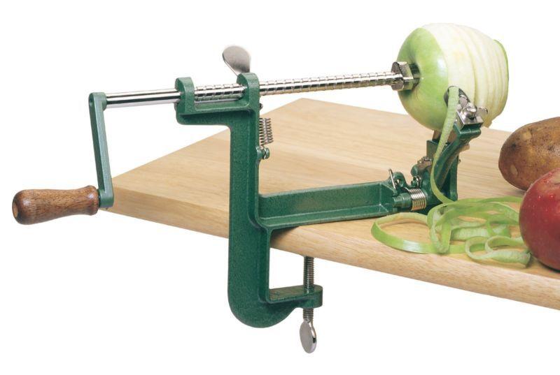 Приспособление для резки яблок на сушку своими руками 27