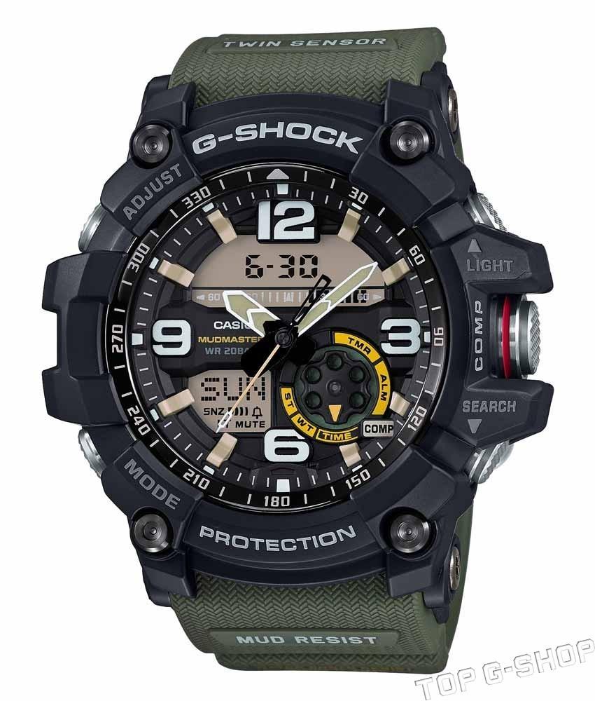 Casio G-SHOCK GG-1000-1A3 / GG-1000-1A3ER - мужские наручные часыCasio<br><br><br>Бренд: Casio<br>Модель: Casio GG-1000-1A3<br>Артикул: GG-1000-1A3<br>Вариант артикула: GG-1000-1A3ER<br>Коллекция: G-SHOCK<br>Подколлекция: MUDMASTER<br>Страна: Япония<br>Пол: мужские<br>Тип механизма: кварцевые<br>Механизм: None<br>Количество камней: None<br>Автоподзавод: None<br>Источник энергии: от батарейки<br>Срок службы элемента питания: None<br>Дисплей: None<br>Цифры: арабские<br>Водозащита: WR 200<br>Противоударные: есть<br>Материал корпуса: нерж. сталь + пластик<br>Материал браслета: каучук<br>Материал безеля: None<br>Стекло: сапфировое<br>Антибликовое покрытие: None<br>Цвет корпуса: None<br>Цвет браслета: None<br>Цвет циферблата: None<br>Цвет безеля: None<br>Размеры: 55.3x56.2x17.1 мм<br>Диаметр: None<br>Диаметр корпуса: None<br>Толщина: None<br>Ширина ремешка: None<br>Вес: 92 г<br>Спорт-функции: секундомер, таймер обратного отсчета, термометр, компас<br>Подсветка: дисплея, стрелок<br>Вставка: None<br>Отображение даты: вечный календарь, число, день недели<br>Хронограф: None<br>Таймер: None<br>Термометр: None<br>Хронометр: None<br>GPS: None<br>Радиосинхронизация: None<br>Барометр: None<br>Скелетон: None<br>Дополнительная информация: None<br>Дополнительные функции: второй часовой пояс, будильник (количество установок: 5)