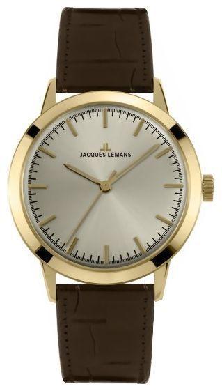Jacques Lemans N-1562B - мужские наручные часы из коллекции NostalgieJacques Lemans<br><br><br>Бренд: Jacques Lemans<br>Модель: Jacques Lemans N-1562B<br>Артикул: N-1562B<br>Вариант артикула: None<br>Коллекция: Nostalgie<br>Подколлекция: None<br>Страна: Австрия<br>Пол: мужские<br>Тип механизма: кварцевые<br>Механизм: None<br>Количество камней: None<br>Автоподзавод: None<br>Источник энергии: от батарейки<br>Срок службы элемента питания: None<br>Дисплей: стрелки<br>Цифры: отсутствуют<br>Водозащита: WR 50<br>Противоударные: None<br>Материал корпуса: нерж. сталь, покрытие: позолота<br>Материал браслета: кожа<br>Материал безеля: None<br>Стекло: минеральное<br>Антибликовое покрытие: None<br>Цвет корпуса: None<br>Цвет браслета: None<br>Цвет циферблата: None<br>Цвет безеля: None<br>Размеры: None<br>Диаметр: None<br>Диаметр корпуса: None<br>Толщина: None<br>Ширина ремешка: None<br>Вес: None<br>Спорт-функции: None<br>Подсветка: None<br>Вставка: None<br>Отображение даты: None<br>Хронограф: None<br>Таймер: None<br>Термометр: None<br>Хронометр: None<br>GPS: None<br>Радиосинхронизация: None<br>Барометр: None<br>Скелетон: None<br>Дополнительная информация: None<br>Дополнительные функции: None