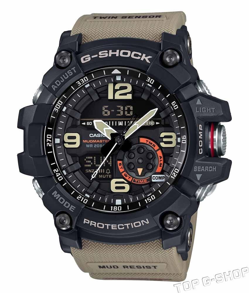 Casio G-SHOCK GG-1000-1A5 / GG-1000-1A5ER - мужские наручные часыCasio<br><br><br>Бренд: Casio<br>Модель: Casio GG-1000-1A5<br>Артикул: GG-1000-1A5<br>Вариант артикула: GG-1000-1A5ER<br>Коллекция: G-SHOCK<br>Подколлекция: MUDMASTER<br>Страна: Япония<br>Пол: мужские<br>Тип механизма: кварцевые<br>Механизм: None<br>Количество камней: None<br>Автоподзавод: None<br>Источник энергии: от батарейки<br>Срок службы элемента питания: None<br>Дисплей: None<br>Цифры: арабские<br>Водозащита: WR 200<br>Противоударные: есть<br>Материал корпуса: нерж. сталь + пластик<br>Материал браслета: каучук<br>Материал безеля: None<br>Стекло: сапфировое<br>Антибликовое покрытие: None<br>Цвет корпуса: None<br>Цвет браслета: None<br>Цвет циферблата: None<br>Цвет безеля: None<br>Размеры: 55.3x56.2x17.1 мм<br>Диаметр: None<br>Диаметр корпуса: None<br>Толщина: None<br>Ширина ремешка: None<br>Вес: 92 г<br>Спорт-функции: секундомер, таймер обратного отсчета, термометр, компас<br>Подсветка: дисплея, стрелок<br>Вставка: None<br>Отображение даты: вечный календарь, число, день недели<br>Хронограф: None<br>Таймер: None<br>Термометр: None<br>Хронометр: None<br>GPS: None<br>Радиосинхронизация: None<br>Барометр: None<br>Скелетон: None<br>Дополнительная информация: None<br>Дополнительные функции: второй часовой пояс, будильник (количество установок: 5)