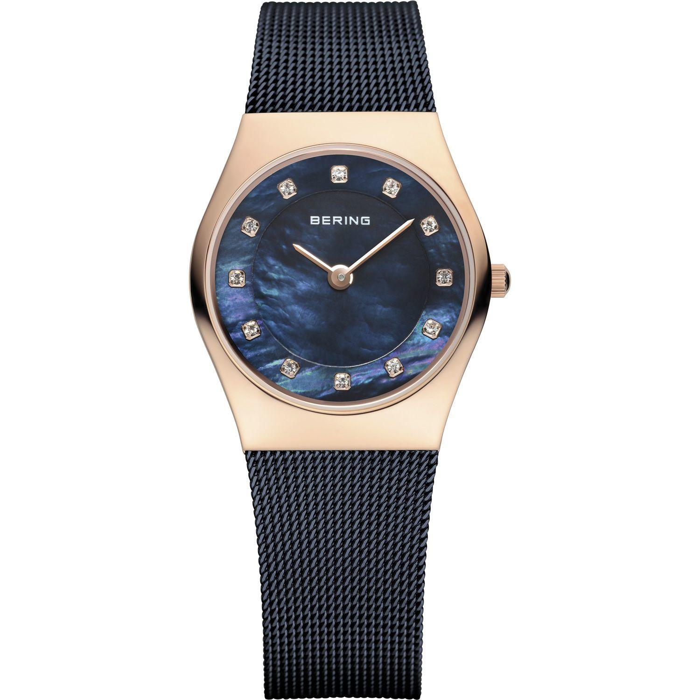 Bering 11927-367 - женские наручные часы из коллекции ClassicBering<br>rose gold, синий миланский браслет , перламутровый циферблат, сапфировое стекло<br><br>Бренд: Bering<br>Модель: Bering 11927-367<br>Артикул: 11927-367<br>Вариант артикула: ber-11927-367<br>Коллекция: Classic<br>Подколлекция: None<br>Страна: Дания<br>Пол: женские<br>Тип механизма: кварцевые<br>Механизм: None<br>Количество камней: None<br>Автоподзавод: None<br>Источник энергии: от батарейки<br>Срок службы элемента питания: None<br>Дисплей: стрелки<br>Цифры: отсутствуют<br>Водозащита: WR 50<br>Противоударные: None<br>Материал корпуса: нерж. сталь, IP покрытие: позолота (полное)<br>Материал браслета: нерж. сталь, IP покрытие (полное)<br>Материал безеля: None<br>Стекло: сапфировое<br>Антибликовое покрытие: None<br>Цвет корпуса: розовое золото<br>Цвет браслета: голубой<br>Цвет циферблата: None<br>Цвет безеля: None<br>Размеры: 27 мм<br>Диаметр: 27 мм<br>Диаметр корпуса: None<br>Толщина: None<br>Ширина ремешка: None<br>Вес: None<br>Спорт-функции: None<br>Подсветка: None<br>Вставка: кристаллы Swarovski<br>Отображение даты: None<br>Хронограф: None<br>Таймер: None<br>Термометр: None<br>Хронометр: None<br>GPS: None<br>Радиосинхронизация: None<br>Барометр: None<br>Скелетон: None<br>Дополнительная информация: None<br>Дополнительные функции: None