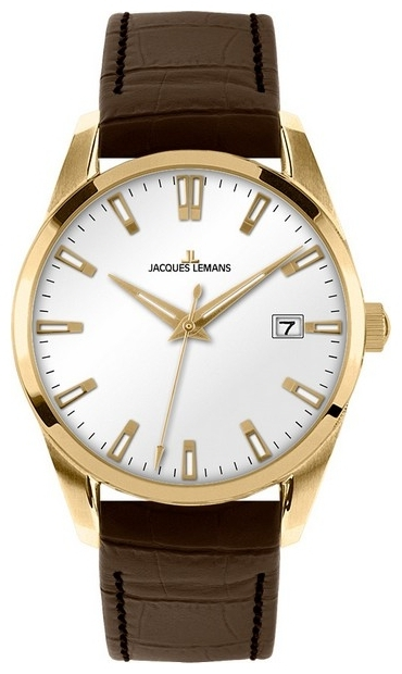 Jacques Lemans 1-1769E - мужские наручные часыJacques Lemans<br><br><br>Бренд: Jacques Lemans<br>Модель: Jacques Lemans 1-1769E<br>Артикул: 1-1769E<br>Вариант артикула: None<br>Коллекция: None<br>Подколлекция: None<br>Страна: Австрия<br>Пол: мужские<br>Тип механизма: кварцевые<br>Механизм: None<br>Количество камней: None<br>Автоподзавод: None<br>Источник энергии: от батарейки<br>Срок службы элемента питания: None<br>Дисплей: стрелки<br>Цифры: отсутствуют<br>Водозащита: WR 10<br>Противоударные: None<br>Материал корпуса: нерж. сталь, IP покрытие (полное)<br>Материал браслета: кожа<br>Материал безеля: None<br>Стекло: Crystex<br>Антибликовое покрытие: None<br>Цвет корпуса: None<br>Цвет браслета: None<br>Цвет циферблата: None<br>Цвет безеля: None<br>Размеры: 39 мм<br>Диаметр: None<br>Диаметр корпуса: None<br>Толщина: None<br>Ширина ремешка: None<br>Вес: None<br>Спорт-функции: None<br>Подсветка: стрелок<br>Вставка: None<br>Отображение даты: число<br>Хронограф: None<br>Таймер: None<br>Термометр: None<br>Хронометр: None<br>GPS: None<br>Радиосинхронизация: None<br>Барометр: None<br>Скелетон: None<br>Дополнительная информация: None<br>Дополнительные функции: None