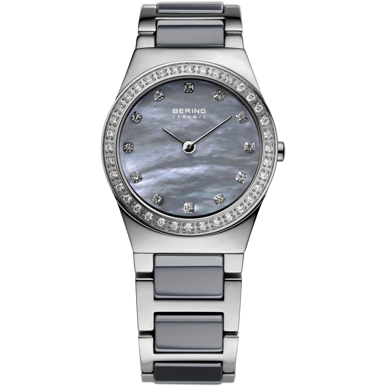 Bering 32426-789 - женские наручные часы из коллекции CeramicBering<br>серая керамика , перламутровый циферблат, сапфировое стекло<br><br>Бренд: Bering<br>Модель: Bering 32426-789<br>Артикул: 32426-789<br>Вариант артикула: ber-32426-789<br>Коллекция: Ceramic<br>Подколлекция: None<br>Страна: Дания<br>Пол: женские<br>Тип механизма: кварцевые<br>Механизм: None<br>Количество камней: None<br>Автоподзавод: None<br>Источник энергии: от батарейки<br>Срок службы элемента питания: None<br>Дисплей: стрелки<br>Цифры: отсутствуют<br>Водозащита: WR 30<br>Противоударные: None<br>Материал корпуса: нерж. сталь<br>Материал браслета: нерж. сталь + керамика<br>Материал безеля: None<br>Стекло: сапфировое<br>Антибликовое покрытие: есть<br>Цвет корпуса: серебристый<br>Цвет браслета: серебрянный<br>Цвет циферблата: None<br>Цвет безеля: None<br>Размеры: 26 мм<br>Диаметр: 26 мм<br>Диаметр корпуса: None<br>Толщина: None<br>Ширина ремешка: None<br>Вес: None<br>Спорт-функции: None<br>Подсветка: None<br>Вставка: кристаллы Swarovski<br>Отображение даты: None<br>Хронограф: None<br>Таймер: None<br>Термометр: None<br>Хронометр: None<br>GPS: None<br>Радиосинхронизация: None<br>Барометр: None<br>Скелетон: None<br>Дополнительная информация: None<br>Дополнительные функции: None