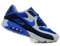 Кроссовки мужские Nike Air Max 90 HYP Premium Grey Blue Black