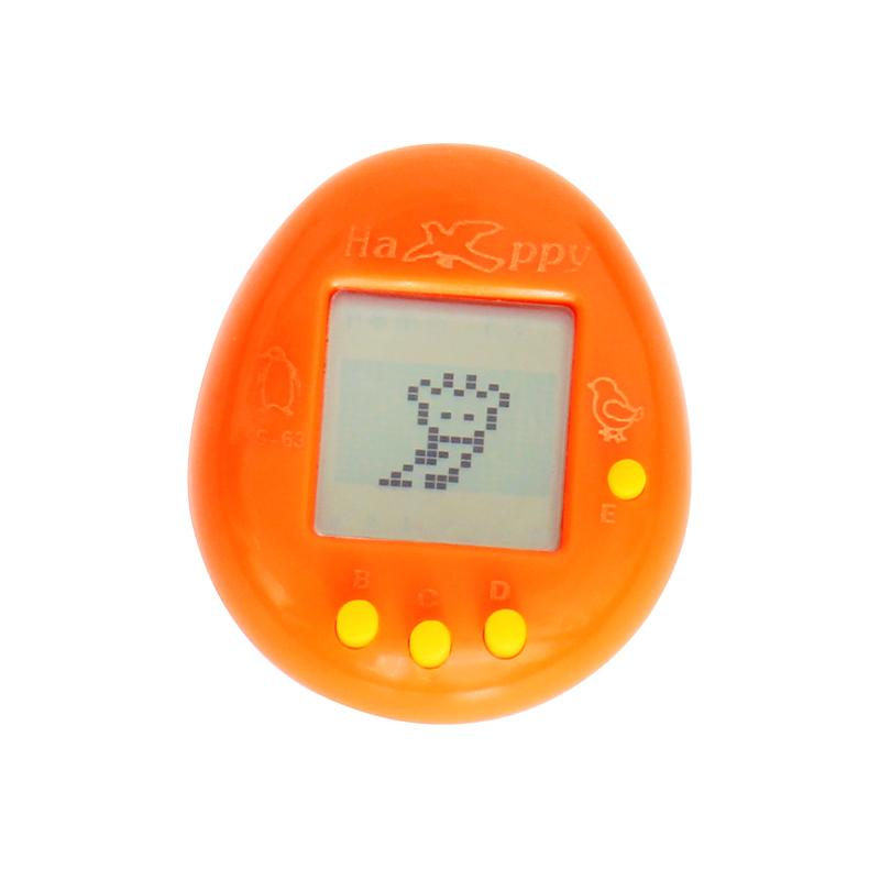 ТамагочиДетям<br>Вкусная помощь волшебна тем, что способна вернуть вас в детство. Теперь у нас есть Тамагочи – электронная игра с виртуальным питомцем, за которым требуется полноценный уход и забота.<br>В 90-х годах Тамагочи стало хитом и настоящим подарком, как для детей, так и для родителей. Для детей Тамагочи стало отличным другом, а у родителей больше не было заботы придумывать отговорки «почему мы не можем оставить этого грязного и бездомного котеночка или щеночка дома». С появлением тамагочи у ребенка был собственный котенок, щенок или даже дракончик, который вел себя почти так же, как и настоящий.<br>Маленький карманный гаджет тамагочи по сей день вызывает восторг у детей и даже взрослых. Дарите тамагочи своим детям, для них игра станет приятной неожиданностью, дарите друзьям и близким, пусть ухаживают за зверушками!<br>В нашем интернет-магазине Тамагочи оригинальные, с тремя кнопками управления.<br>Размер:5 см х 3 см<br>