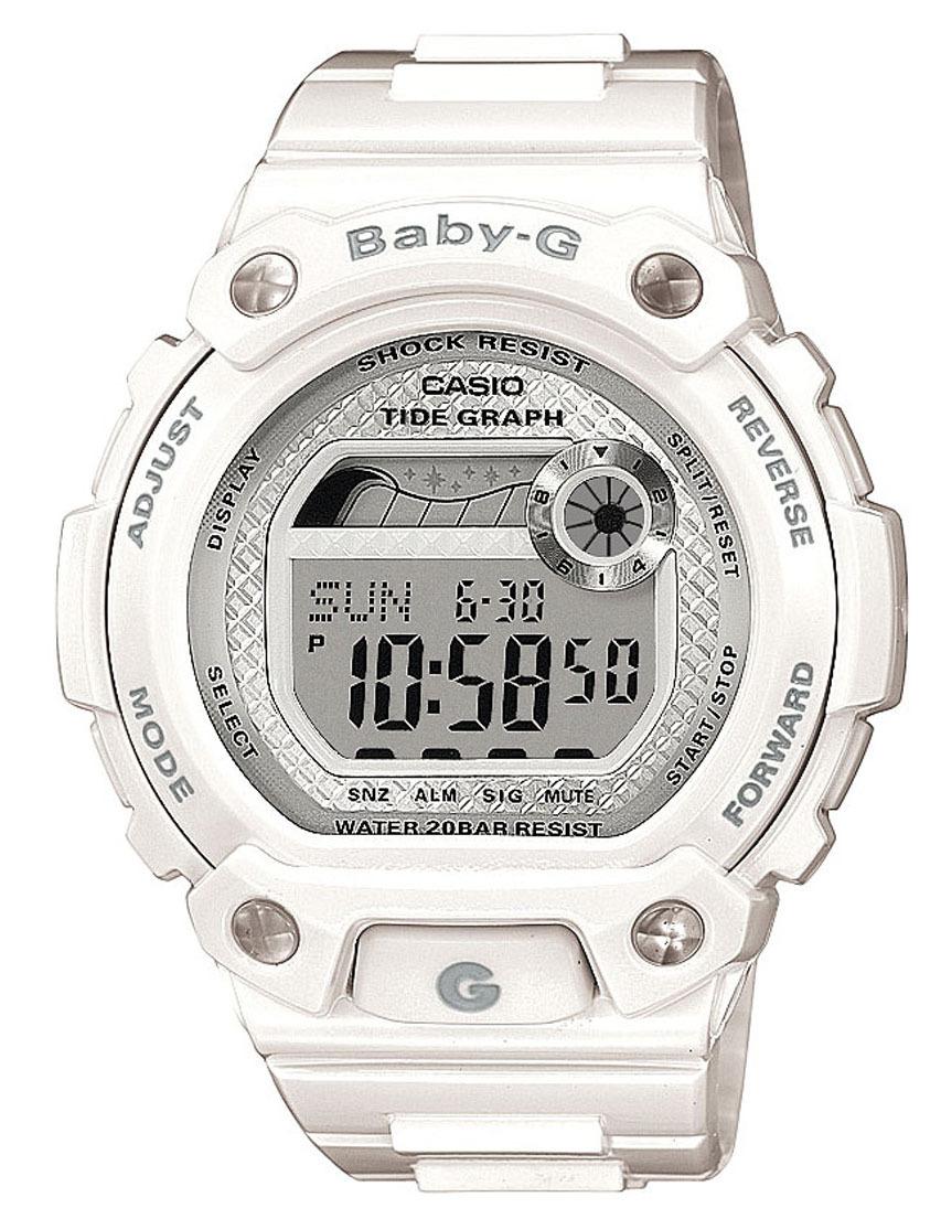 Casio Baby-G BLX-100-7E / BLX-100-7ER - унисекс наручные часыCasio<br><br><br>Бренд: Casio<br>Модель: Casio BLX-100-7E<br>Артикул: BLX-100-7E<br>Вариант артикула: BLX-100-7ER<br>Коллекция: Baby-G<br>Подколлекция: None<br>Страна: Япония<br>Пол: унисекс<br>Тип механизма: кварцевые<br>Механизм: None<br>Количество камней: None<br>Автоподзавод: None<br>Источник энергии: от батарейки<br>Срок службы элемента питания: None<br>Дисплей: цифры<br>Цифры: None<br>Водозащита: WR 200<br>Противоударные: есть<br>Материал корпуса: нерж. сталь + пластик<br>Материал браслета: каучук<br>Материал безеля: None<br>Стекло: минеральное<br>Антибликовое покрытие: None<br>Цвет корпуса: None<br>Цвет браслета: None<br>Цвет циферблата: None<br>Цвет безеля: None<br>Размеры: 42.3x44.8x13.6 мм<br>Диаметр: None<br>Диаметр корпуса: None<br>Толщина: None<br>Ширина ремешка: None<br>Вес: 41 г<br>Спорт-функции: секундомер, таймер обратного отсчета<br>Подсветка: дисплея<br>Вставка: None<br>Отображение даты: вечный календарь, число, месяц, день недели<br>Хронограф: None<br>Таймер: None<br>Термометр: None<br>Хронометр: None<br>GPS: None<br>Радиосинхронизация: None<br>Барометр: None<br>Скелетон: None<br>Дополнительная информация: графическое отображение сведений о приливах и отливах, автоподсветка, ежечасный сигнал, повтор сигнала будильника, функция включения/отключения звука, элемент питания CR1616, срок службы батарейки 3 года<br>Дополнительные функции: второй часовой пояс, указатель фаз луны, будильник (количество установок: 3)