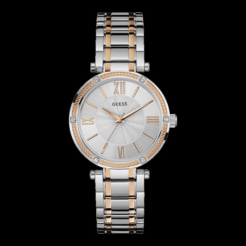 GUESS W0636L1 - женские наручные часы из коллекции IconicGUESS<br><br><br>Бренд: GUESS<br>Модель: GUESS W0636L1<br>Артикул: W0636L1<br>Вариант артикула: None<br>Коллекция: Iconic<br>Подколлекция: None<br>Страна: США<br>Пол: женские<br>Тип механизма: кварцевые<br>Механизм: None<br>Количество камней: None<br>Автоподзавод: None<br>Источник энергии: от батарейки<br>Срок службы элемента питания: None<br>Дисплей: стрелки<br>Цифры: римские<br>Водозащита: WR 30<br>Противоударные: None<br>Материал корпуса: нерж. сталь, частичное покрытие корпуса<br>Материал браслета: нерж. сталь, частичное дополнительное покрытие<br>Материал безеля: None<br>Стекло: минеральное<br>Антибликовое покрытие: None<br>Цвет корпуса: серебро<br>Цвет браслета: None<br>Цвет циферблата: серебро<br>Цвет безеля: None<br>Размеры: 36x9 мм<br>Диаметр: None<br>Диаметр корпуса: None<br>Толщина: None<br>Ширина ремешка: None<br>Вес: None<br>Спорт-функции: None<br>Подсветка: None<br>Вставка: None<br>Отображение даты: None<br>Хронограф: None<br>Таймер: None<br>Термометр: None<br>Хронометр: None<br>GPS: None<br>Радиосинхронизация: None<br>Барометр: None<br>Скелетон: None<br>Дополнительная информация: None<br>Дополнительные функции: None
