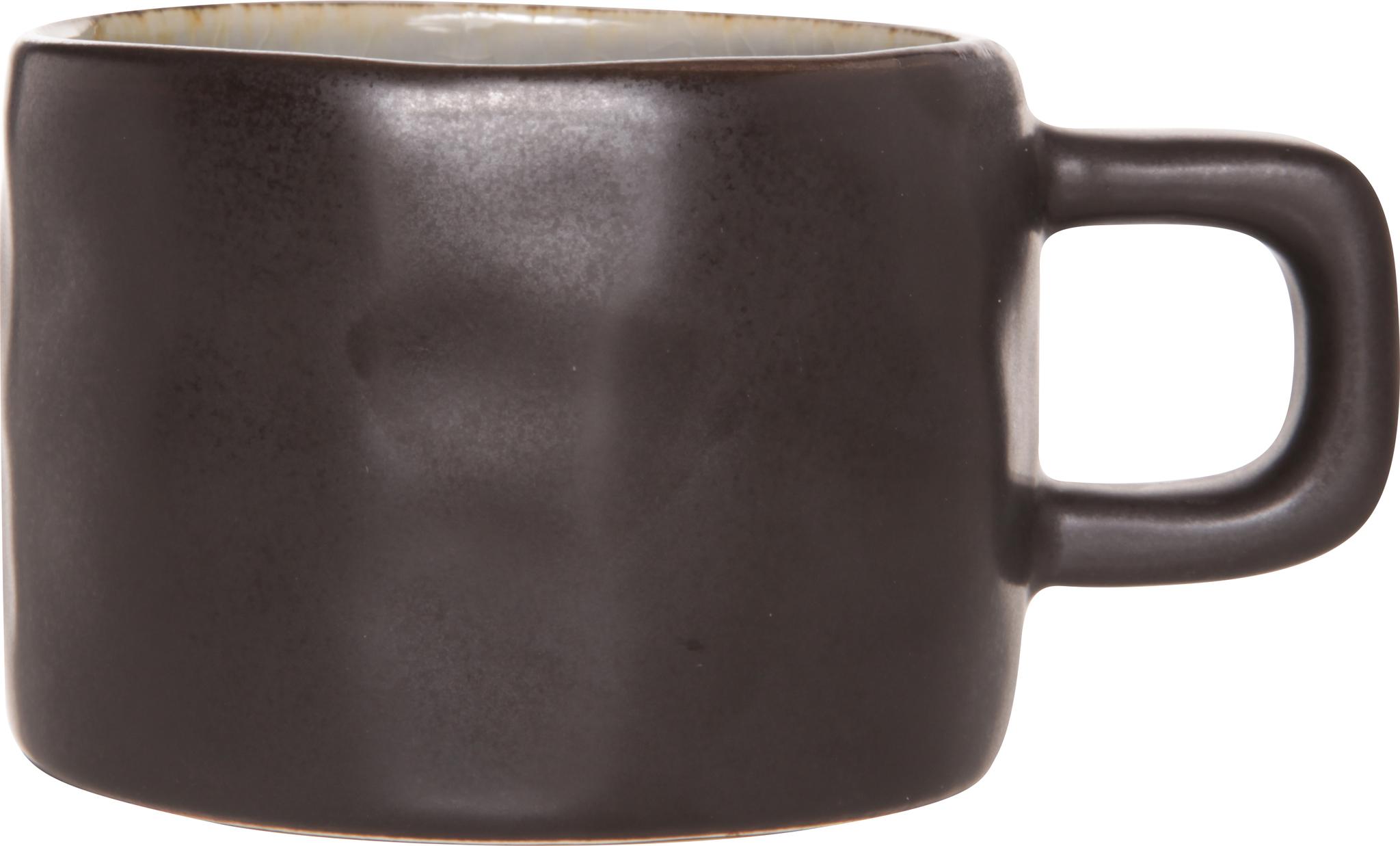 Чашка 8,5х6 см COSY&amp;TRENDY Laguna blue-grey 5556326Кружки и чашки<br>Чашка 8,5х6 см COSY&amp;TRENDY Laguna blue-grey 5556326<br><br>Эта коллекция из каменной керамики поражает удивительным цветом, текстурой и формой. Насыщенный ярко-серый оттенок с волнистым рельефом погружают в прибрежную лагуну. Органические края для дополнительного дизайна. Коллекция Laguna Blue-Grey воссоздает исключительный внешний вид приготовленных блюд.<br>