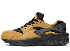 Кроссовки Мужские Nike Air Huarache Brown Black