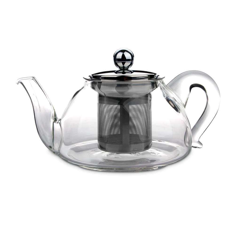 Чайник для кипячения и заваривания, стеклянный с фильтром 0,45 л IBILI Kristall арт. 621704Чайники заварочные<br>вид упаковки:подарочнаякрышка:естьматериал:стеклопредметов в наборе (штук):1ручки:фиксированныестрана:Испания<br><br>В этом стильном чайнике вы сможете легко и быстро заварить ваш любимый напиток и наслаждаться его насыщенным цветом сквозь стеклянные стенки. При этом удобная ручка чайника всегда остается холодной, а его носик сконструирован таким образом, что при наклоне ни одна капля не прольется мимо чашки.<br>Объемы френч-прессов этой серии 600 и 800 мл позволяют устроить домашнее чаепитие для всей семьи, а также угостить ароматным свежезаваренным напитком своих гостей. А благодаря элегантному классическому дизайну чайник способен стать достойным элементов сервировки любого стола, как повседневного, так и праздничного.<br>