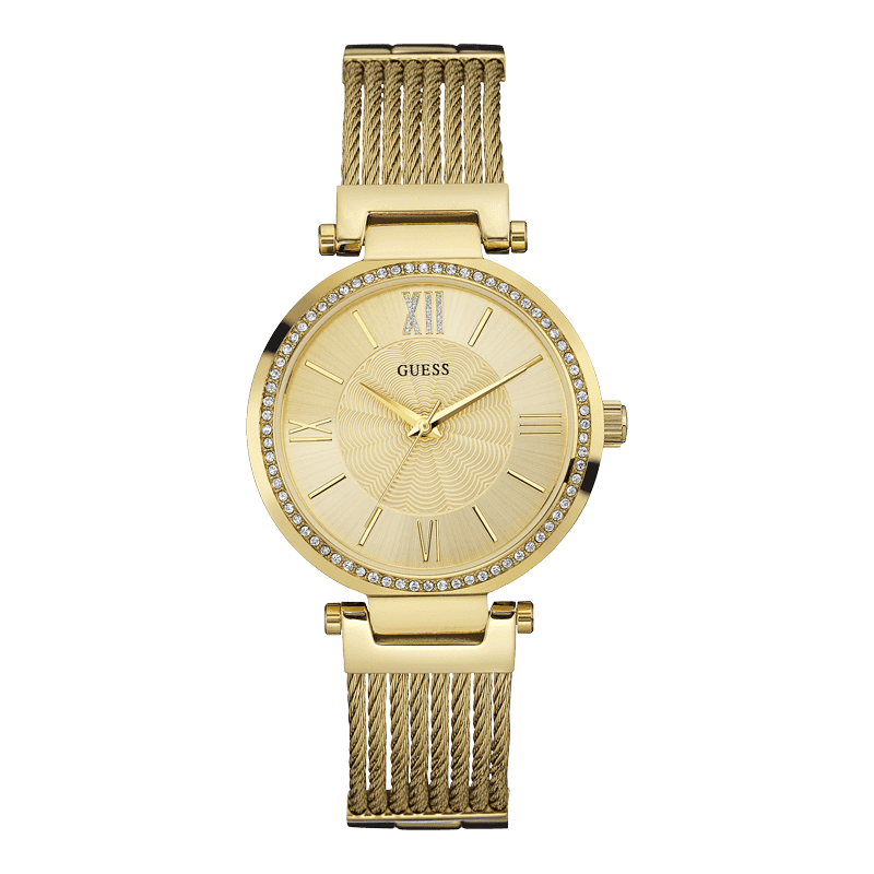 GUESS W0638L2 - женские наручные часы из коллекции IconicGUESS<br><br><br>Бренд: GUESS<br>Модель: GUESS W0638L2<br>Артикул: W0638L2<br>Вариант артикула: None<br>Коллекция: Iconic<br>Подколлекция: None<br>Страна: США<br>Пол: женские<br>Тип механизма: кварцевые<br>Механизм: None<br>Количество камней: None<br>Автоподзавод: None<br>Источник энергии: от батарейки<br>Срок службы элемента питания: None<br>Дисплей: стрелки<br>Цифры: римские<br>Водозащита: WR 30<br>Противоударные: None<br>Материал корпуса: нерж. сталь, IP покрытие: позолота (полное)<br>Материал браслета: нерж. сталь, IP покрытие (полное): позолота<br>Материал безеля: None<br>Стекло: минеральное<br>Антибликовое покрытие: None<br>Цвет корпуса: золото<br>Цвет браслета: золото<br>Цвет циферблата: золото<br>Цвет безеля: None<br>Размеры: 36x8 мм<br>Диаметр: None<br>Диаметр корпуса: None<br>Толщина: None<br>Ширина ремешка: None<br>Вес: None<br>Спорт-функции: None<br>Подсветка: None<br>Вставка: None<br>Отображение даты: None<br>Хронограф: None<br>Таймер: None<br>Термометр: None<br>Хронометр: None<br>GPS: None<br>Радиосинхронизация: None<br>Барометр: None<br>Скелетон: None<br>Дополнительная информация: None<br>Дополнительные функции: None