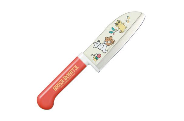 Нож кухонный детский стальной Сантоку Tojiro Brisa Bonita BB-3Tojiro Brisa Bonita<br>Нож кухонный детский стальной Сантоку Tojiro Brisa Bonita BB-3<br><br>Кухонные ножи серии Brisa Bonita, предназначены для детей разного возраста. Многие дети в определённом возрасте начинают пробовать готовить. Предоставьте им такую возможность с японскими кухонными ножами для детей.<br>Специальный угол заточки и закрытая пятка не позволят ребенку порезаться, при этом нож сохраняет свою полную функциональность.<br>Официальный сертифицированный продавец TOJIRO<br>