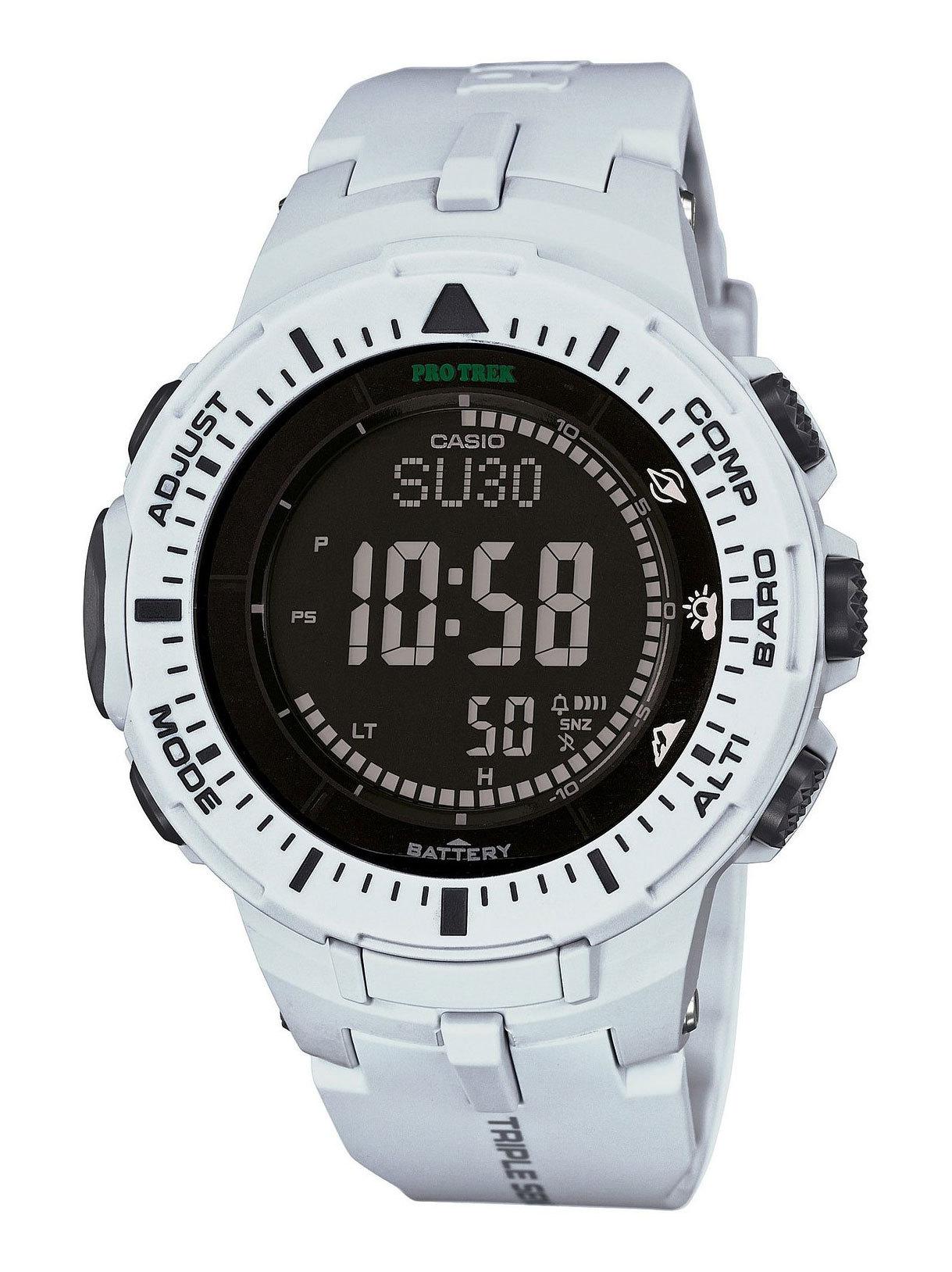Casio Protrek PRG-300-7E / PRG-300-7ER -  наручные часыCasio<br>Многофункциональные наручные часы с коррекцией времени по радиосигналу,питанием от солнечной батареи, барометром,альтиметром,датчиком температуры, таймером и будильником на полиуриетановом ремешке.<br><br>Бренд: Casio<br>Модель: Casio PRG-300-7E<br>Артикул: PRG-300-7E<br>Вариант артикула: PRG-300-7ER<br>Коллекция: Protrek<br>Подколлекция: None<br>Страна: Япония<br>Пол: None<br>Тип механизма: None<br>Механизм: None<br>Количество камней: None<br>Автоподзавод: None<br>Источник энергии: None<br>Срок службы элемента питания: None<br>Дисплей: None<br>Цифры: None<br>Водозащита: None<br>Противоударные: None<br>Материал корпуса: None<br>Материал браслета: None<br>Материал безеля: None<br>Стекло: None<br>Антибликовое покрытие: None<br>Цвет корпуса: None<br>Цвет браслета: None<br>Цвет циферблата: None<br>Цвет безеля: None<br>Размеры: None<br>Диаметр: None<br>Диаметр корпуса: None<br>Толщина: None<br>Ширина ремешка: None<br>Вес: None<br>Спорт-функции: None<br>Подсветка: None<br>Вставка: None<br>Отображение даты: None<br>Хронограф: None<br>Таймер: None<br>Термометр: None<br>Хронометр: None<br>GPS: None<br>Радиосинхронизация: None<br>Барометр: None<br>Скелетон: None<br>Дополнительная информация: None<br>Дополнительные функции: None