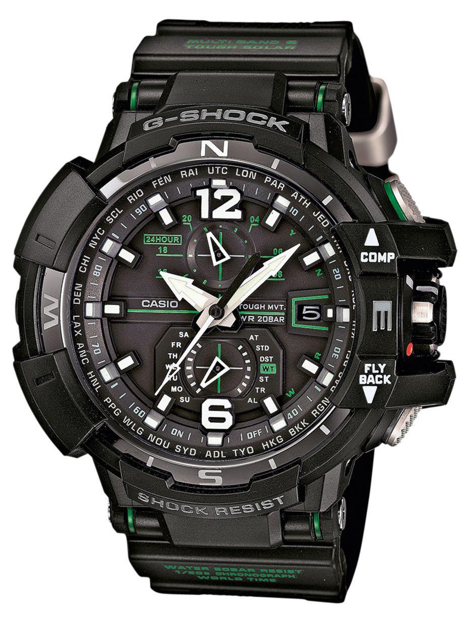 Casio G-SHOCK GW-A1100-1A3 / GW-A1100-1A3ER - оригинальные наручные часы