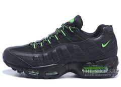 Мужские Кроссовки Nike Air Max 95 Black Green