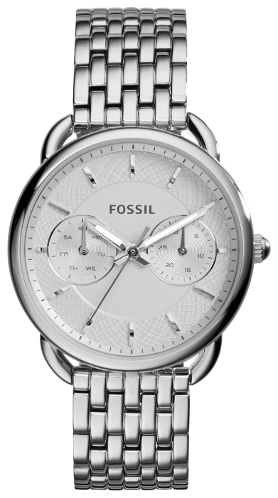 Fossil ES3712 - женские наручные часы из коллекции FashionFossil<br><br><br>Бренд: Fossil<br>Модель: Fossil ES3712<br>Артикул: ES3712<br>Вариант артикула: None<br>Коллекция: Fashion<br>Подколлекция: None<br>Страна: США<br>Пол: женские<br>Тип механизма: кварцевые<br>Механизм: None<br>Количество камней: None<br>Автоподзавод: None<br>Источник энергии: от батарейки<br>Срок службы элемента питания: None<br>Дисплей: стрелки<br>Цифры: отсутствуют<br>Водозащита: WR 50<br>Противоударные: None<br>Материал корпуса: нерж. сталь<br>Материал браслета: нерж. сталь<br>Материал безеля: None<br>Стекло: минеральное<br>Антибликовое покрытие: None<br>Цвет корпуса: None<br>Цвет браслета: None<br>Цвет циферблата: None<br>Цвет безеля: None<br>Размеры: 35x10 мм<br>Диаметр: None<br>Диаметр корпуса: None<br>Толщина: None<br>Ширина ремешка: None<br>Вес: None<br>Спорт-функции: None<br>Подсветка: стрелок<br>Вставка: None<br>Отображение даты: число, день недели<br>Хронограф: None<br>Таймер: None<br>Термометр: None<br>Хронометр: None<br>GPS: None<br>Радиосинхронизация: None<br>Барометр: None<br>Скелетон: None<br>Дополнительная информация: None<br>Дополнительные функции: None