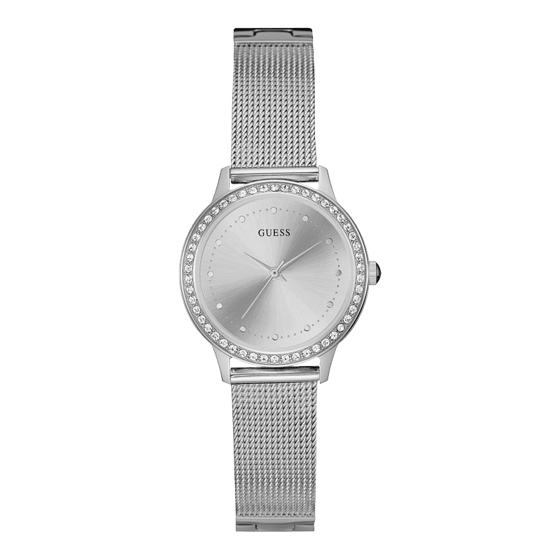 GUESS W0647L6 - женские наручные часы из коллекции IconicGUESS<br><br><br>Бренд: GUESS<br>Модель: GUESS W0647L6<br>Артикул: W0647L6<br>Вариант артикула: None<br>Коллекция: Iconic<br>Подколлекция: None<br>Страна: США<br>Пол: женские<br>Тип механизма: кварцевые<br>Механизм: None<br>Количество камней: None<br>Автоподзавод: None<br>Источник энергии: от батарейки<br>Срок службы элемента питания: None<br>Дисплей: стрелки<br>Цифры: отсутствуют<br>Водозащита: WR 30<br>Противоударные: None<br>Материал корпуса: нерж. сталь<br>Материал браслета: нерж. сталь<br>Материал безеля: None<br>Стекло: минеральное<br>Антибликовое покрытие: None<br>Цвет корпуса: серебро<br>Цвет браслета: серебро<br>Цвет циферблата: серебро<br>Цвет безеля: None<br>Размеры: 30x8 мм<br>Диаметр: None<br>Диаметр корпуса: None<br>Толщина: None<br>Ширина ремешка: None<br>Вес: None<br>Спорт-функции: None<br>Подсветка: None<br>Вставка: None<br>Отображение даты: None<br>Хронограф: None<br>Таймер: None<br>Термометр: None<br>Хронометр: None<br>GPS: None<br>Радиосинхронизация: None<br>Барометр: None<br>Скелетон: None<br>Дополнительная информация: None<br>Дополнительные функции: None