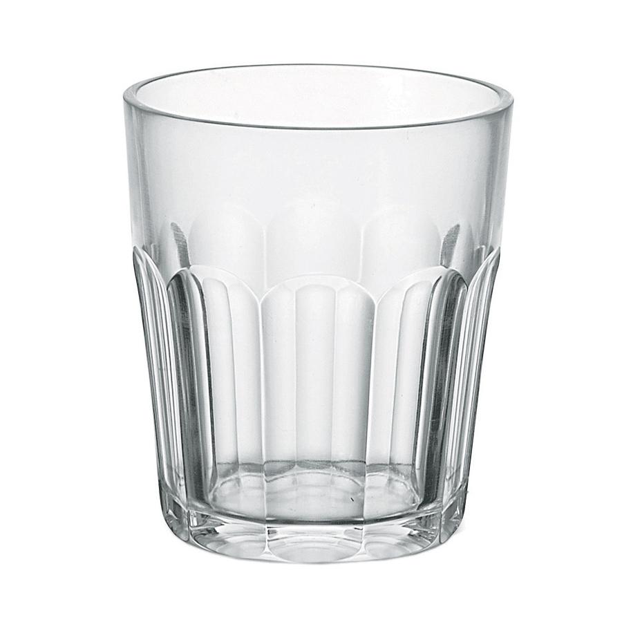 Стакан Happy Hour 350 мл прозрачный Guzzini 7230300Посуда Guzzini (Италия)<br>Стакан из качественного и прочного пластика. Выбранный материал позволяет сделать стакан небьющимся, что служит хорошую службу, когда речь идет о большой вечеринке или торжестве на свежем воздухе.<br>Объем - 350 мл. Можно мыть в посудомоечной машине.<br>