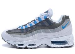 Мужские Кроссовки Nike Air Max 95 White Grey Blue