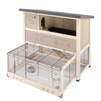 Ferplast sin - деревянный домик для кроликов