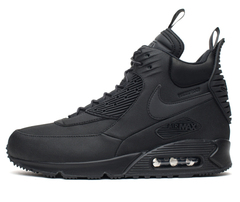 Кроссовки Мужские Nike Air Max 90 Sneakerboot All Black