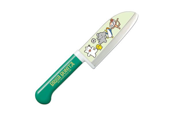Нож кухонный детский стальной Сантоку Tojiro Brisa Bonita BB-4Tojiro Brisa Bonita<br>Нож кухонный детский стальной Сантоку Tojiro Brisa Bonita BB-4<br><br>Кухонные ножи серии Brisa Bonita, предназначены для детей разного возраста. Многие дети в определённом возрасте начинают пробовать готовить. Предоставьте им такую возможность с японскими кухонными ножами для детей.<br>Специальный угол заточки и закрытая пятка не позволят ребенку порезаться, при этом нож сохраняет свою полную функциональность.<br>Официальный сертифицированный продавец TOJIRO<br>