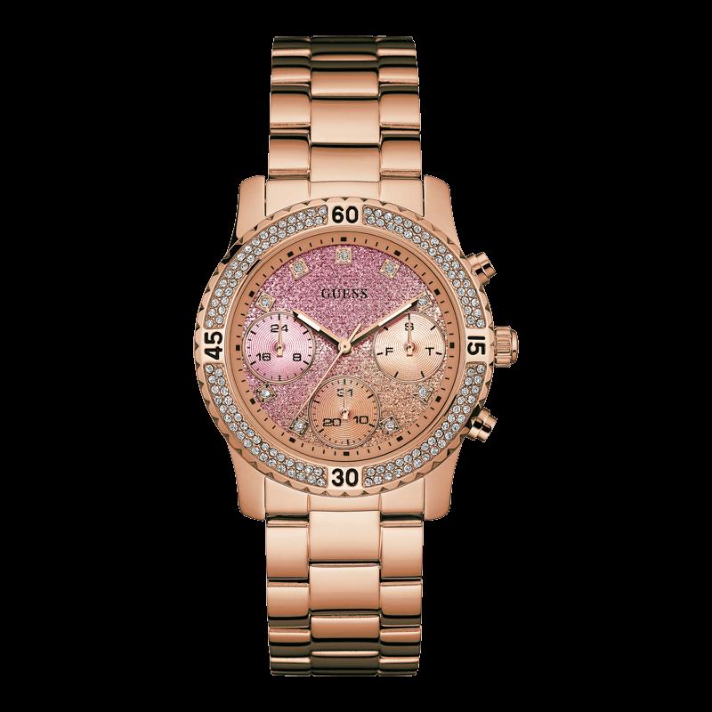 GUESS W0774L3 - женские наручные часы из коллекции IconicGUESS<br><br><br>Бренд: GUESS<br>Модель: GUESS W0774L3<br>Артикул: W0774L3<br>Вариант артикула: None<br>Коллекция: Iconic<br>Подколлекция: None<br>Страна: США<br>Пол: женские<br>Тип механизма: кварцевые<br>Механизм: None<br>Количество камней: None<br>Автоподзавод: None<br>Источник энергии: от батарейки<br>Срок службы элемента питания: None<br>Дисплей: стрелки<br>Цифры: отсутствуют<br>Водозащита: WR 50<br>Противоударные: None<br>Материал корпуса: нерж. сталь, полное покрытие корпуса<br>Материал браслета: нерж. сталь, полное дополнительное покрытие<br>Материал безеля: None<br>Стекло: минеральное<br>Антибликовое покрытие: None<br>Цвет корпуса: розовое золото<br>Цвет браслета: None<br>Цвет циферблата: None<br>Цвет безеля: None<br>Размеры: 38x11 мм<br>Диаметр: None<br>Диаметр корпуса: None<br>Толщина: None<br>Ширина ремешка: 20 см<br>Вес: None<br>Спорт-функции: None<br>Подсветка: стрелок<br>Вставка: None<br>Отображение даты: число, день недели<br>Хронограф: None<br>Таймер: None<br>Термометр: None<br>Хронометр: None<br>GPS: None<br>Радиосинхронизация: None<br>Барометр: None<br>Скелетон: None<br>Дополнительная информация: None<br>Дополнительные функции: None
