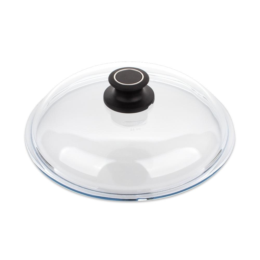 Крышка стеклянная 28 см AMT Glass Lids арт. AMT028Крышки<br>диаметр (см): 28.0материал: стеклопредметов в наборе (штук): 1ручки: фиксированныестрана: Германия<br>Официальный продавец AMT<br>