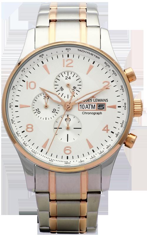 Jacques Lemans 1-1844L - мужские наручные часы из коллекции LondonJacques Lemans<br><br><br>Бренд: Jacques Lemans<br>Модель: Jacques Lemans 1-1844L<br>Артикул: 1-1844L<br>Вариант артикула: None<br>Коллекция: London<br>Подколлекция: None<br>Страна: Австрия<br>Пол: мужские<br>Тип механизма: кварцевые<br>Механизм: None<br>Количество камней: None<br>Автоподзавод: None<br>Источник энергии: от батарейки<br>Срок службы элемента питания: None<br>Дисплей: стрелки<br>Цифры: арабские<br>Водозащита: WR 10<br>Противоударные: None<br>Материал корпуса: нерж. сталь, IP покрытие (частичное)<br>Материал браслета: нерж. сталь, IP покрытие (частичное)<br>Материал безеля: None<br>Стекло: Crystex<br>Антибликовое покрытие: None<br>Цвет корпуса: None<br>Цвет браслета: None<br>Цвет циферблата: None<br>Цвет безеля: None<br>Размеры: 44 мм<br>Диаметр: None<br>Диаметр корпуса: None<br>Толщина: None<br>Ширина ремешка: None<br>Вес: None<br>Спорт-функции: секундомер<br>Подсветка: стрелок<br>Вставка: None<br>Отображение даты: число<br>Хронограф: есть<br>Таймер: None<br>Термометр: None<br>Хронометр: None<br>GPS: None<br>Радиосинхронизация: None<br>Барометр: None<br>Скелетон: None<br>Дополнительная информация: None<br>Дополнительные функции: None