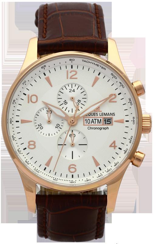 Jacques Lemans 1-1844F - мужские наручные часы из коллекции LondonJacques Lemans<br><br><br>Бренд: Jacques Lemans<br>Модель: Jacques Lemans 1-1844F<br>Артикул: 1-1844F<br>Вариант артикула: None<br>Коллекция: London<br>Подколлекция: None<br>Страна: Австрия<br>Пол: мужские<br>Тип механизма: кварцевые<br>Механизм: None<br>Количество камней: None<br>Автоподзавод: None<br>Источник энергии: от батарейки<br>Срок службы элемента питания: None<br>Дисплей: стрелки<br>Цифры: арабские<br>Водозащита: WR 10<br>Противоударные: None<br>Материал корпуса: нерж. сталь, IP покрытие (полное)<br>Материал браслета: кожа<br>Материал безеля: None<br>Стекло: Crystex<br>Антибликовое покрытие: None<br>Цвет корпуса: None<br>Цвет браслета: None<br>Цвет циферблата: None<br>Цвет безеля: None<br>Размеры: 44 мм<br>Диаметр: None<br>Диаметр корпуса: None<br>Толщина: None<br>Ширина ремешка: None<br>Вес: None<br>Спорт-функции: секундомер<br>Подсветка: стрелок<br>Вставка: None<br>Отображение даты: число<br>Хронограф: есть<br>Таймер: None<br>Термометр: None<br>Хронометр: None<br>GPS: None<br>Радиосинхронизация: None<br>Барометр: None<br>Скелетон: None<br>Дополнительная информация: None<br>Дополнительные функции: None