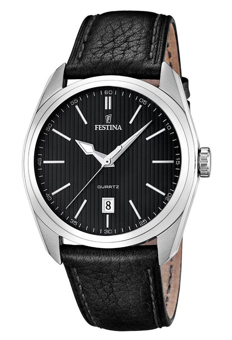 Festina F16777.4 - мужские наручные часы из коллекции Correa ClasicoFestina<br><br><br>Бренд: Festina<br>Модель: Festina F16777/4<br>Артикул: F16777.4<br>Вариант артикула: None<br>Коллекция: Correa Clasico<br>Подколлекция: None<br>Страна: Испания<br>Пол: мужские<br>Тип механизма: кварцевые<br>Механизм: M2315<br>Количество камней: None<br>Автоподзавод: None<br>Источник энергии: от батарейки<br>Срок службы элемента питания: None<br>Дисплей: стрелки<br>Цифры: отсутствуют<br>Водозащита: WR 50<br>Противоударные: None<br>Материал корпуса: нерж. сталь<br>Материал браслета: кожа<br>Материал безеля: None<br>Стекло: минеральное<br>Антибликовое покрытие: None<br>Цвет корпуса: None<br>Цвет браслета: None<br>Цвет циферблата: None<br>Цвет безеля: None<br>Размеры: 44x12 мм<br>Диаметр: None<br>Диаметр корпуса: None<br>Толщина: None<br>Ширина ремешка: None<br>Вес: None<br>Спорт-функции: None<br>Подсветка: стрелок<br>Вставка: None<br>Отображение даты: число<br>Хронограф: None<br>Таймер: None<br>Термометр: None<br>Хронометр: None<br>GPS: None<br>Радиосинхронизация: None<br>Барометр: None<br>Скелетон: None<br>Дополнительная информация: None<br>Дополнительные функции: None
