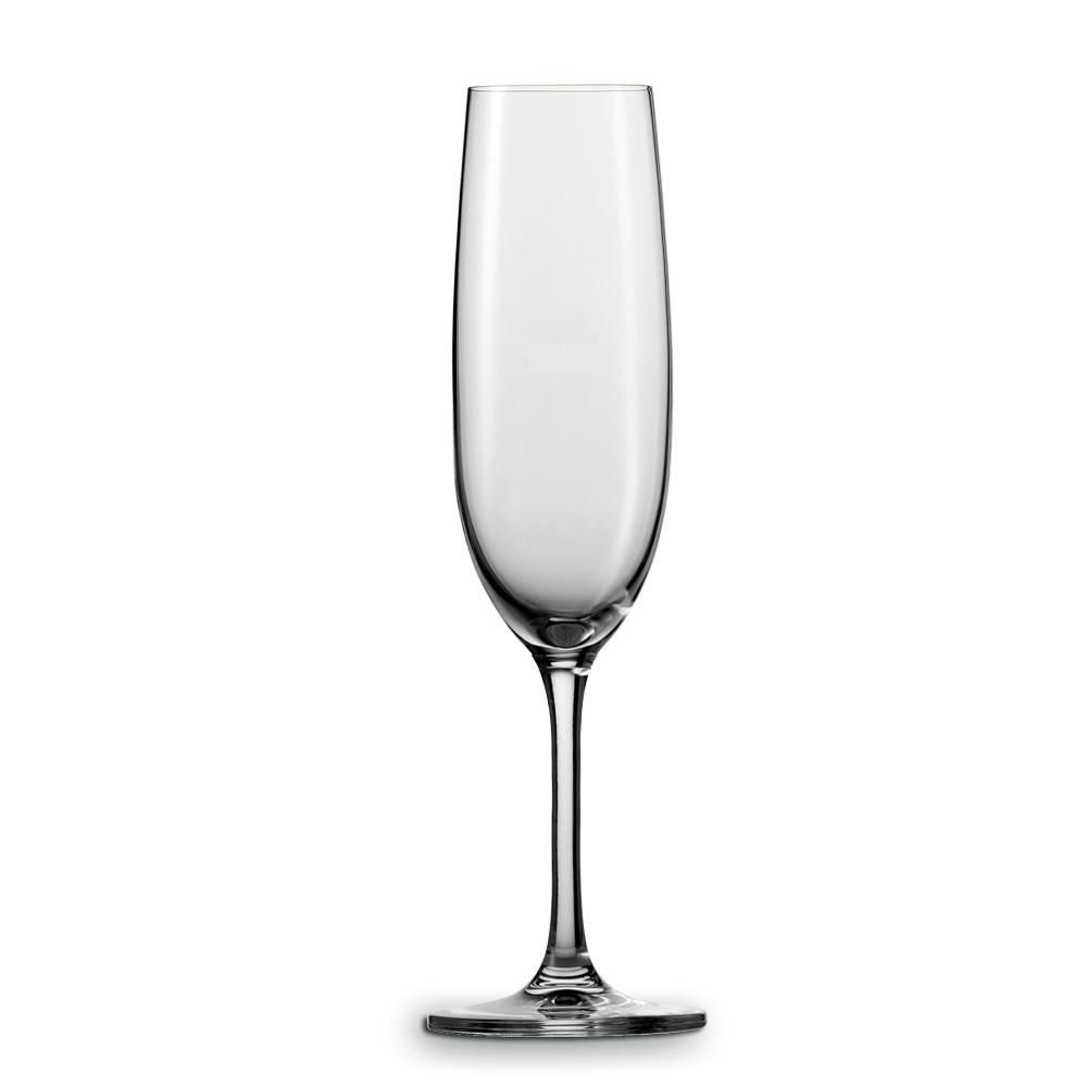 Набор из 2 фужеров для шампанского 228 мл SCHOTT ZWIESEL Elegance арт. 118540Бокалы и стаканы<br>Набор из 2 фужеров для шампанского 228 мл SCHOTT ZWIESEL Elegance арт. 118541<br><br>вид упаковки: подарочнаяматериал: хрустальное стеклоназначение: для шампанскогообъем (мл): 228предметов в наборе (штук): 2страна: Германия<br>Элегантный классический дизайн тонкого, но необычайно прочного хрустального стекла великолепно дополнит сервировку любого праздничного стола. Для большей прочности изделия упрочнены в местах соединения чаши и ножки.<br>Фужеры для белого, красного вина и шампанского Elegance идеально соответствуют названию серии.<br>Внешняя хрупкость этих бокалов обманчива: уникальное стекло TRITAN ®, из которого они изготовлены, способно не только уберечь их от механических повреждений, но и выдержать до двух тысяч циклов мытья в посудомоечной машине. Пара фужеров Elegance в подарочной упаковке не только украсят романтичный ужин, но и могут стать стильным презентом для ваших близких, друзей или деловых партнеров.<br>Официальный продавец SCHOTT ZWIESEL<br>