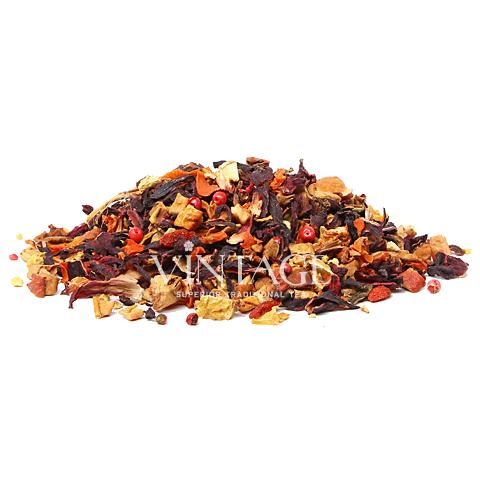 Имбирное Яблочко (чай фруктовый  ароматизированный)Весовой чай<br>Имбирное Яблочко (чай фруктовый ароматизированный)<br><br><br><br><br><br><br><br><br><br>Время заваривания<br>Температура заваривания<br>Количество заварки<br><br><br><br>Рекомендуемое время заваривания 5-6мин.<br><br><br>Рекомендуемая температура заваривания 90-95 °С<br><br><br>Рекомендуемое количество заварки 3-4гр из расчета на 200-300мл.<br><br><br><br><br><br>Состав:кусочки яблока, гибискус, хлопья моркови, ягоды Годжи, цедра апельсина, имбирь, розовый перец.<br>Описание:имбирь укрепляет иммунитет и задерживает развитие вредных бактерий. Имбирь придает изысканность яркому вкусу напитка.<br>