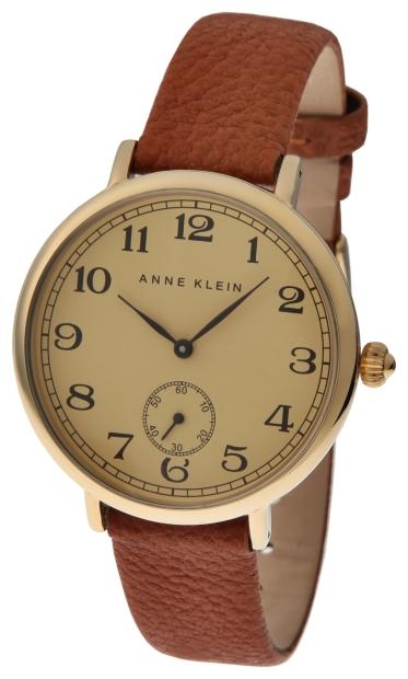 Anne Klein 1204CRHY - женские наручные часы из коллекции DailyAnne Klein<br><br><br>Бренд: Anne Klein<br>Модель: Anne Klein 1204 CRHY<br>Артикул: 1204CRHY<br>Вариант артикула: None<br>Коллекция: Daily<br>Подколлекция: None<br>Страна: США<br>Пол: женские<br>Тип механизма: кварцевые<br>Механизм: None<br>Количество камней: None<br>Автоподзавод: None<br>Источник энергии: от батарейки<br>Срок службы элемента питания: None<br>Дисплей: стрелки<br>Цифры: арабские<br>Водозащита: WR 30<br>Противоударные: None<br>Материал корпуса: нерж. сталь, PVD покрытие: позолота (полное)<br>Материал браслета: кожа<br>Материал безеля: None<br>Стекло: минеральное<br>Антибликовое покрытие: None<br>Цвет корпуса: None<br>Цвет браслета: None<br>Цвет циферблата: None<br>Цвет безеля: None<br>Размеры: None<br>Диаметр: None<br>Диаметр корпуса: None<br>Толщина: None<br>Ширина ремешка: None<br>Вес: None<br>Спорт-функции: None<br>Подсветка: None<br>Вставка: None<br>Отображение даты: None<br>Хронограф: None<br>Таймер: None<br>Термометр: None<br>Хронометр: None<br>GPS: None<br>Радиосинхронизация: None<br>Барометр: None<br>Скелетон: None<br>Дополнительная информация: None<br>Дополнительные функции: None