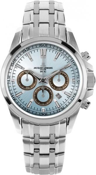 Jacques Lemans 1-1117UN - мужские наручные часы из коллекции LiverpoolJacques Lemans<br><br><br>Бренд: Jacques Lemans<br>Модель: Jacques Lemans 1-1117UN<br>Артикул: 1-1117UN<br>Вариант артикула: None<br>Коллекция: Liverpool<br>Подколлекция: None<br>Страна: Австрия<br>Пол: мужские<br>Тип механизма: кварцевые<br>Механизм: None<br>Количество камней: None<br>Автоподзавод: None<br>Источник энергии: от батарейки<br>Срок службы элемента питания: None<br>Дисплей: стрелки<br>Цифры: отсутствуют<br>Водозащита: WR 200<br>Противоударные: None<br>Материал корпуса: нерж. сталь<br>Материал браслета: нерж. сталь<br>Материал безеля: None<br>Стекло: минеральное<br>Антибликовое покрытие: None<br>Цвет корпуса: None<br>Цвет браслета: None<br>Цвет циферблата: None<br>Цвет безеля: None<br>Размеры: 44 мм<br>Диаметр: None<br>Диаметр корпуса: None<br>Толщина: None<br>Ширина ремешка: None<br>Вес: None<br>Спорт-функции: секундомер<br>Подсветка: стрелок<br>Вставка: None<br>Отображение даты: число<br>Хронограф: есть<br>Таймер: None<br>Термометр: None<br>Хронометр: None<br>GPS: None<br>Радиосинхронизация: None<br>Барометр: None<br>Скелетон: None<br>Дополнительная информация: None<br>Дополнительные функции: None