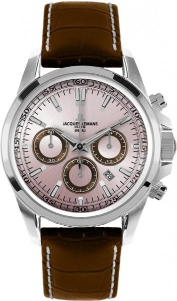 Jacques Lemans 1-1117RN - мужские наручные часы из коллекции SportJacques Lemans<br><br><br>Бренд: Jacques Lemans<br>Модель: Jacques Lemans 1-1117RN<br>Артикул: 1-1117RN<br>Вариант артикула: None<br>Коллекция: Sport<br>Подколлекция: None<br>Страна: Австрия<br>Пол: мужские<br>Тип механизма: кварцевые<br>Механизм: None<br>Количество камней: None<br>Автоподзавод: None<br>Источник энергии: от батарейки<br>Срок службы элемента питания: None<br>Дисплей: стрелки<br>Цифры: отсутствуют<br>Водозащита: WR 200<br>Противоударные: None<br>Материал корпуса: нерж. сталь<br>Материал браслета: кожа<br>Материал безеля: None<br>Стекло: минеральное<br>Антибликовое покрытие: None<br>Цвет корпуса: None<br>Цвет браслета: None<br>Цвет циферблата: None<br>Цвет безеля: None<br>Размеры: 44 мм<br>Диаметр: None<br>Диаметр корпуса: None<br>Толщина: None<br>Ширина ремешка: None<br>Вес: None<br>Спорт-функции: секундомер<br>Подсветка: стрелок<br>Вставка: None<br>Отображение даты: число<br>Хронограф: есть<br>Таймер: None<br>Термометр: None<br>Хронометр: None<br>GPS: None<br>Радиосинхронизация: None<br>Барометр: None<br>Скелетон: None<br>Дополнительная информация: None<br>Дополнительные функции: None