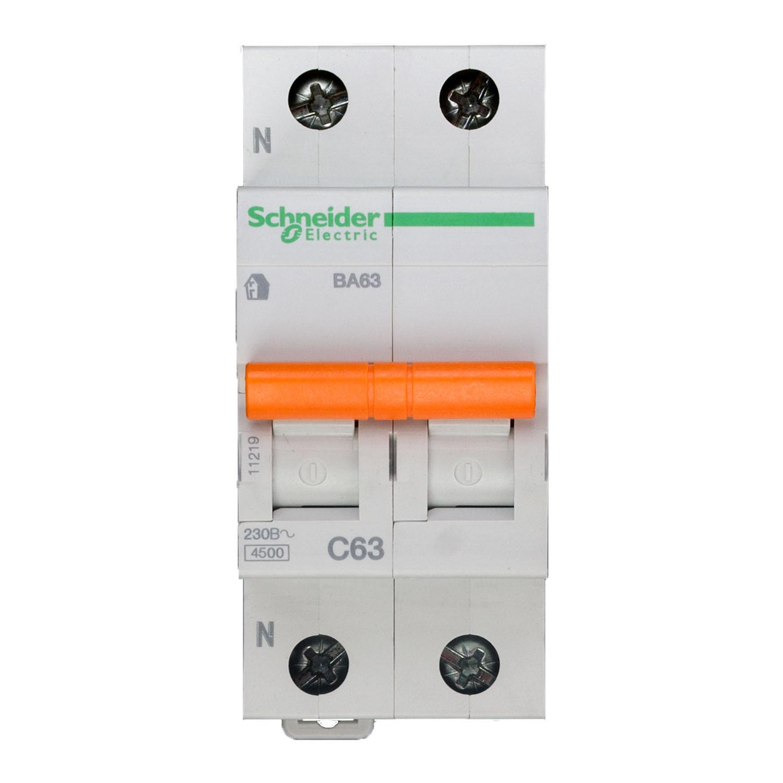 Выключатель автоматический 3п 6а с ic60n 6ка schneider electric в перми с информацией о цене и возможности купить (заказать)
