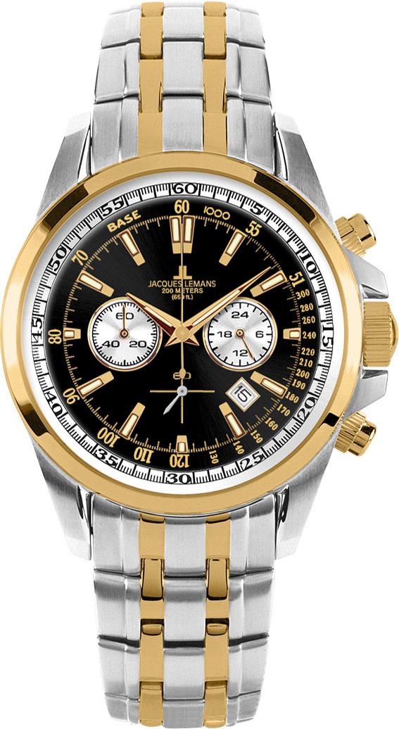 Jacques Lemans 1-1117GN - мужские наручные часы из коллекции LiverpoolJacques Lemans<br><br><br>Бренд: Jacques Lemans<br>Модель: Jacques Lemans 1-1117GN<br>Артикул: 1-1117GN<br>Вариант артикула: None<br>Коллекция: Liverpool<br>Подколлекция: None<br>Страна: Австрия<br>Пол: мужские<br>Тип механизма: кварцевые<br>Механизм: None<br>Количество камней: None<br>Автоподзавод: None<br>Источник энергии: от батарейки<br>Срок службы элемента питания: None<br>Дисплей: стрелки<br>Цифры: отсутствуют<br>Водозащита: WR 20<br>Противоударные: None<br>Материал корпуса: нерж. сталь, покрытие: позолота (частичное)<br>Материал браслета: не указан, покрытие: позолота (частичное)<br>Материал безеля: None<br>Стекло: Crystex<br>Антибликовое покрытие: None<br>Цвет корпуса: None<br>Цвет браслета: None<br>Цвет циферблата: None<br>Цвет безеля: None<br>Размеры: 44x44 мм<br>Диаметр: None<br>Диаметр корпуса: None<br>Толщина: None<br>Ширина ремешка: None<br>Вес: None<br>Спорт-функции: секундомер<br>Подсветка: стрелок<br>Вставка: None<br>Отображение даты: число<br>Хронограф: есть<br>Таймер: None<br>Термометр: None<br>Хронометр: None<br>GPS: None<br>Радиосинхронизация: None<br>Барометр: None<br>Скелетон: None<br>Дополнительная информация: None<br>Дополнительные функции: None