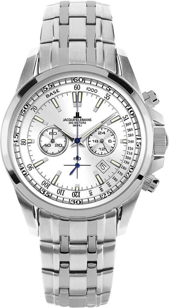 Jacques Lemans 1-1117FN - мужские наручные часы из коллекции LiverpoolJacques Lemans<br><br><br>Бренд: Jacques Lemans<br>Модель: Jacques Lemans 1-1117FN<br>Артикул: 1-1117FN<br>Вариант артикула: None<br>Коллекция: Liverpool<br>Подколлекция: None<br>Страна: Австрия<br>Пол: мужские<br>Тип механизма: кварцевые<br>Механизм: Miyota FS20<br>Количество камней: None<br>Автоподзавод: None<br>Источник энергии: от батарейки<br>Срок службы элемента питания: None<br>Дисплей: стрелки<br>Цифры: отсутствуют<br>Водозащита: WR 200<br>Противоударные: None<br>Материал корпуса: нерж. сталь<br>Материал браслета: не указан<br>Материал безеля: None<br>Стекло: минеральное<br>Антибликовое покрытие: None<br>Цвет корпуса: None<br>Цвет браслета: None<br>Цвет циферблата: None<br>Цвет безеля: None<br>Размеры: 44x44 мм<br>Диаметр: None<br>Диаметр корпуса: None<br>Толщина: None<br>Ширина ремешка: None<br>Вес: None<br>Спорт-функции: секундомер<br>Подсветка: стрелок<br>Вставка: None<br>Отображение даты: число<br>Хронограф: есть<br>Таймер: None<br>Термометр: None<br>Хронометр: None<br>GPS: None<br>Радиосинхронизация: None<br>Барометр: None<br>Скелетон: None<br>Дополнительная информация: элемент питания SR626SW (срок службы 24 месяца)<br>Дополнительные функции: None