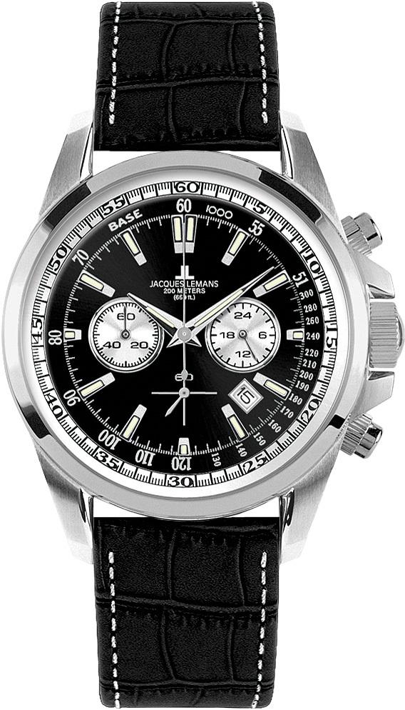 Jacques Lemans 1-1117AN - мужские наручные часы из коллекции LiverpoolJacques Lemans<br><br><br>Бренд: Jacques Lemans<br>Модель: Jacques Lemans 1-1117AN<br>Артикул: 1-1117AN<br>Вариант артикула: None<br>Коллекция: Liverpool<br>Подколлекция: None<br>Страна: Австрия<br>Пол: мужские<br>Тип механизма: кварцевые<br>Механизм: Miyota FS20<br>Количество камней: None<br>Автоподзавод: None<br>Источник энергии: от батарейки<br>Срок службы элемента питания: None<br>Дисплей: стрелки<br>Цифры: арабские<br>Водозащита: WR 20<br>Противоударные: None<br>Материал корпуса: нерж. сталь<br>Материал браслета: кожа<br>Материал безеля: None<br>Стекло: Crystex<br>Антибликовое покрытие: None<br>Цвет корпуса: None<br>Цвет браслета: None<br>Цвет циферблата: None<br>Цвет безеля: None<br>Размеры: 44x12 мм<br>Диаметр: None<br>Диаметр корпуса: None<br>Толщина: None<br>Ширина ремешка: None<br>Вес: None<br>Спорт-функции: секундомер<br>Подсветка: стрелок<br>Вставка: None<br>Отображение даты: число<br>Хронограф: есть<br>Таймер: None<br>Термометр: None<br>Хронометр: None<br>GPS: None<br>Радиосинхронизация: None<br>Барометр: None<br>Скелетон: None<br>Дополнительная информация: None<br>Дополнительные функции: None