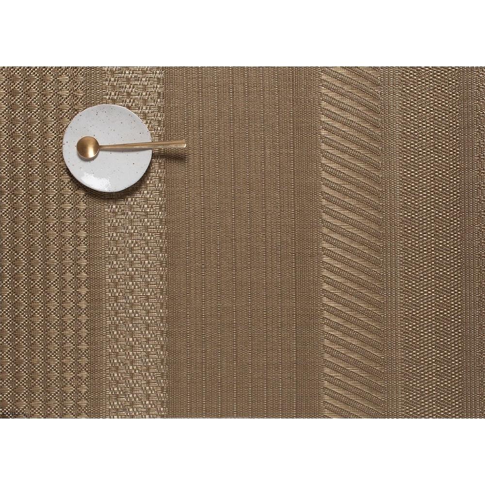 Салфетка подстановочная, винил, (36х48) GOLD CHILEWICH MixedWeave Luxe арт. 100409-003Сервировка стола<br>длина (см):48материал:винилпредметов в наборе (штук):1страна:СШАширина (см):36.0<br>