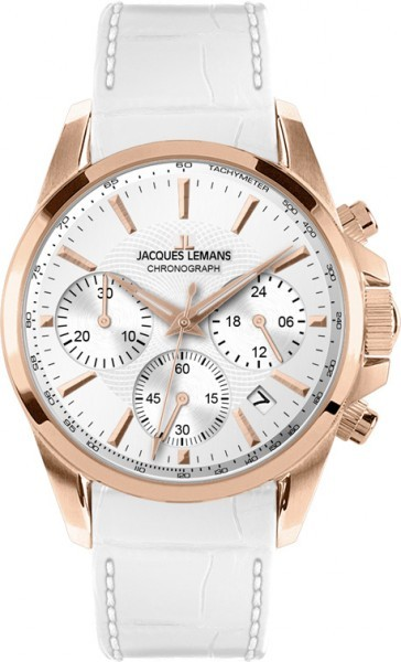 Jacques Lemans 1-1752H - женские наручные часы из коллекции LiverpoolJacques Lemans<br><br><br>Бренд: Jacques Lemans<br>Модель: Jacques Lemans 1-1752H<br>Артикул: 1-1752H<br>Вариант артикула: None<br>Коллекция: Liverpool<br>Подколлекция: None<br>Страна: Австрия<br>Пол: женские<br>Тип механизма: кварцевые<br>Механизм: None<br>Количество камней: None<br>Автоподзавод: None<br>Источник энергии: от батарейки<br>Срок службы элемента питания: None<br>Дисплей: стрелки<br>Цифры: отсутствуют<br>Водозащита: WR 10<br>Противоударные: None<br>Материал корпуса: нерж. сталь, IP покрытие (полное)<br>Материал браслета: кожа<br>Материал безеля: None<br>Стекло: Crystex<br>Антибликовое покрытие: None<br>Цвет корпуса: None<br>Цвет браслета: None<br>Цвет циферблата: None<br>Цвет безеля: None<br>Размеры: 35 мм<br>Диаметр: None<br>Диаметр корпуса: None<br>Толщина: None<br>Ширина ремешка: None<br>Вес: None<br>Спорт-функции: секундомер<br>Подсветка: стрелок<br>Вставка: None<br>Отображение даты: число<br>Хронограф: есть<br>Таймер: None<br>Термометр: None<br>Хронометр: None<br>GPS: None<br>Радиосинхронизация: None<br>Барометр: None<br>Скелетон: None<br>Дополнительная информация: None<br>Дополнительные функции: None