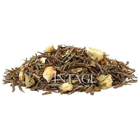 Секрет Соусапа (чай зеленый байховый ароматизированный листовой)Весовой чай<br>Секрет Соусапа (чай зеленый байховый ароматизированный листовой)<br><br><br><br><br><br><br><br><br><br>Время заваривания<br>Температура заваривания<br>Количество заварки<br><br><br><br>Рекомендуемое время заваривания 3-4мин.<br><br><br>Рекомендуемая температура заваривания 70-75 °С<br><br><br>Рекомендуемое количество заварки 3-4гр из расчета на 200-300мл.<br><br><br><br><br><br>Состав:зеленый китайский, кенийский чай, кусочки алоэ, белые бутоны роз, кусочки сандалового дерева, листья ежевики, выжимка фрукта Саусап.<br>